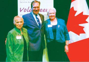 W.I. volunteers serve