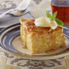 Carrot and apple bread pudding a tasty dessert