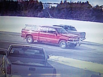 Video footage shows pickup truck involved in Alliston hit-and-run