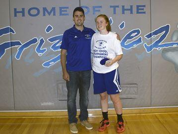 Innisdale girls win basketball tournament