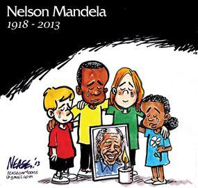 Steve Nease on Nelson Mandela