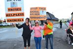 Skyway Animal Hospital protest