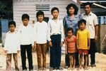 The Banh family