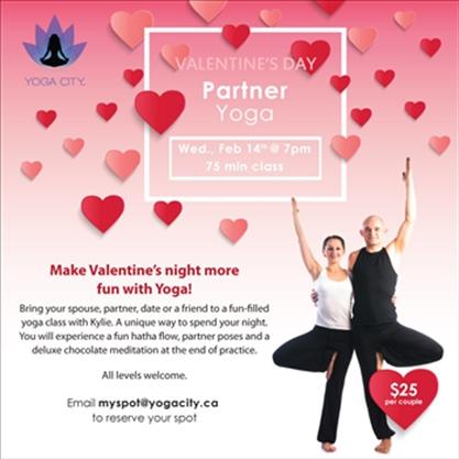 Valentine S Day Partner Yoga On February 14 2018 Caledonenterprise Com