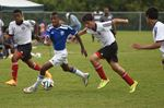 Under-14 boys soccer scores in Midland