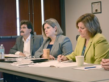 Horwath takes in health care grievances