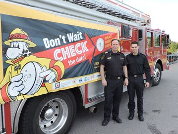 Fire Prevention Week outreach