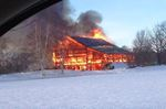 Grey Highlands barn destroyed by fire