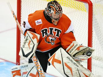 Binnington sets RIT shutout record as Tigers advance to semis