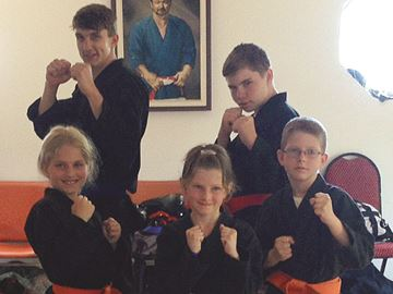Stayner martial artists