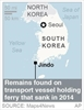 South Korea finds presumed remains of ferry disaster victims-Image1