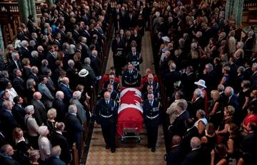 Belanger's gender neutral anthem sung at funeral-Image1