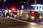 Car and police cruiser collide at Oakville intersection