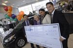 Woman gets early birthday present from Hyundai of Oakville