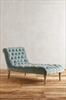 Velvet chaise