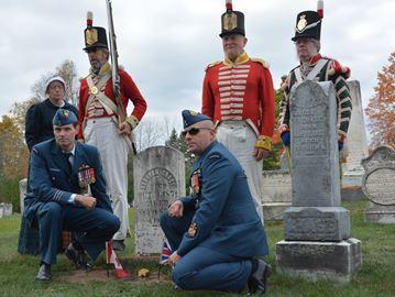 War of 1812 veterans honoured