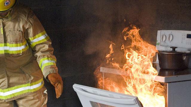 Kitchen fire concerns