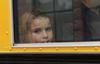 School bus safety orientation day