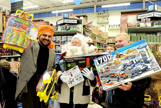 Toys For Troy : Troy s toy drive in full swing donations taken until dec