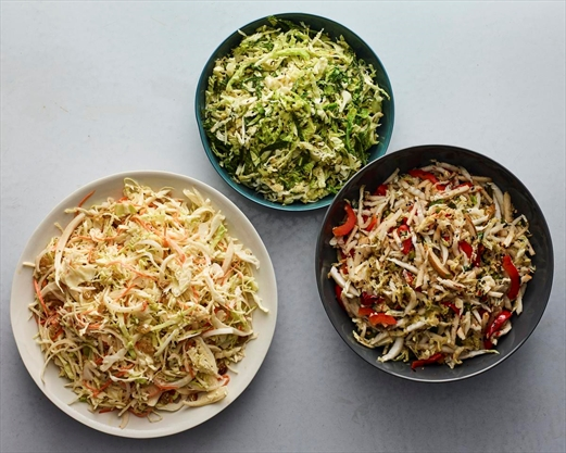 How to give coleslaw a little kiss of fire