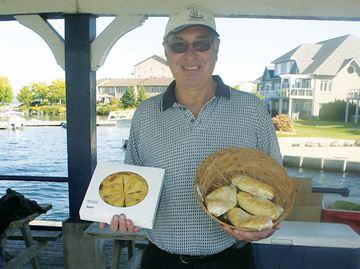 Pies and more in Penetanguishene
