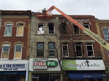 Historic buildings demolished
