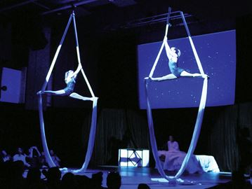 Acrobats thrill Midland Cultural Centre audience