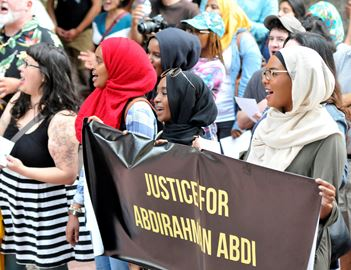Justice for Abdirahman