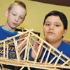 Barrie students headed bridge-building competition this weekend