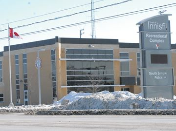 Soutjh Simcoe Police Innisfil headquarters