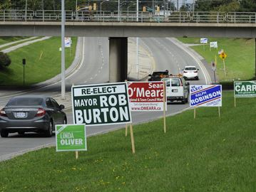 No Oakville election sign ban coming anytime soon