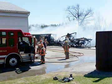 Bowmanville fire