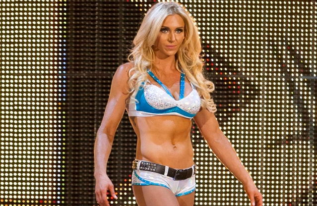 b7c1b150ae Meeting WWE star Charlotte Flair and going to our first live WWE match