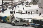 Montreal crashes