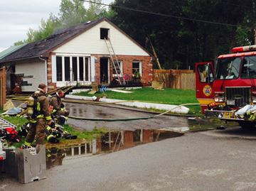 Fire causes significant damage to Niagara Falls house