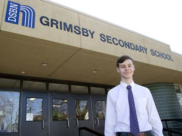 Truly random: Grimsby Secondary student heading to international science fair