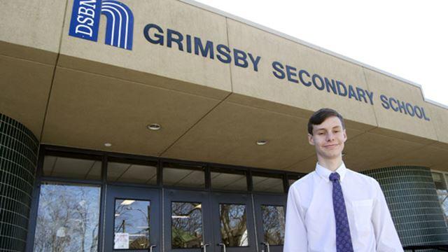 Truly random: Grimsby Secondary student heading to international science fair