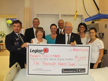 Hospital Foundation donation