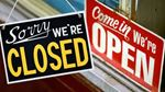 Open and closed for Aug. 1