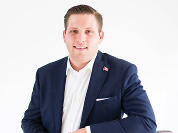 Conservative candidate Adam Moulton