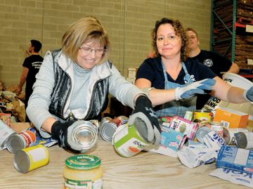 You have helped Barrie Food Bank achieve its goal