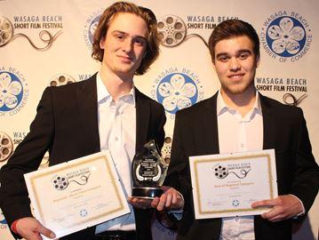 Budding filmmakers win top prize at Wasaga Beach short film festival