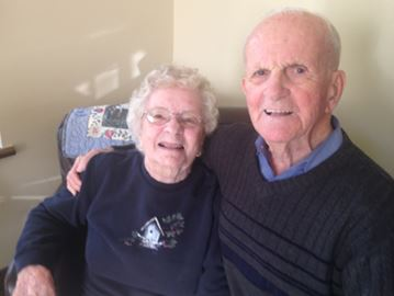 Betty Walck and Bill Young