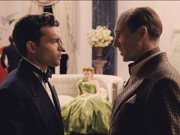 Alden Ehrenreich and Ralph Fiennes