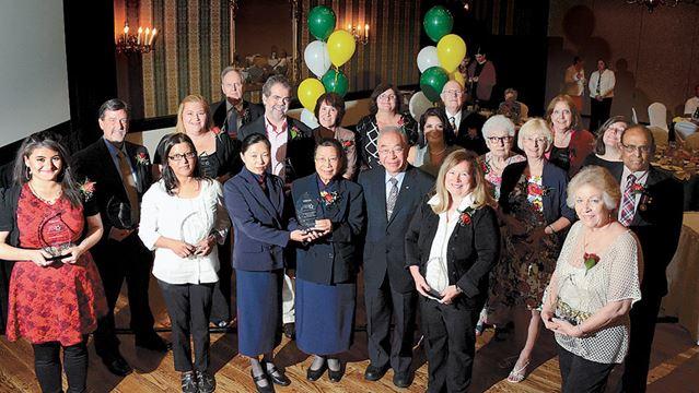 Urban Hero Award winners