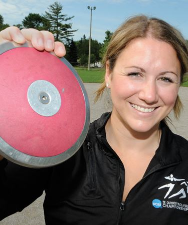 Barrie area athlete hurls herself into Pan Am games
