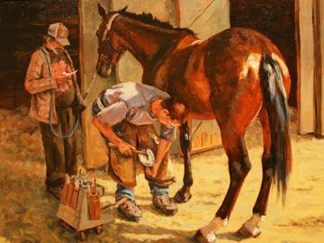 Celebrating horses