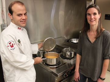 Three-course meal to spoil palates, help fund new accessible school play structure