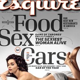 Emilia Clarke crowned Sexiest Woman Alive