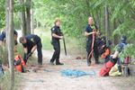 Man falls into creek